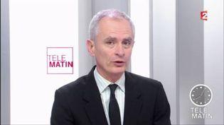 Arnaud Boutet, journaliste au service politique de France Télévisions. (FRANCE 2)
