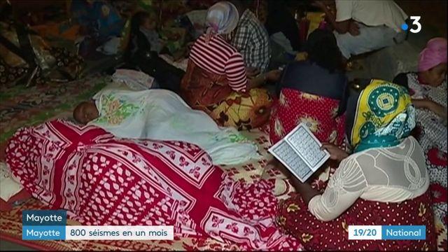 Mayotte : 800 séismes enregistrés en un mois
