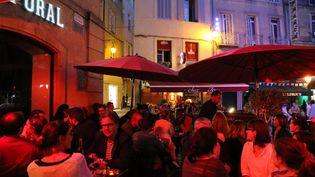 La terrasse d'un restaurant à Aix-en-Provence (photo d'illustration). (SYLVESTRE / MAXPPP)