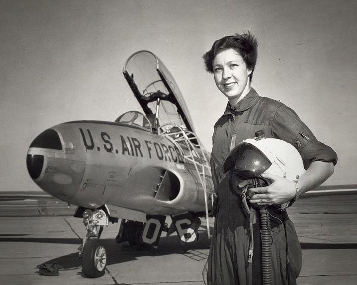 Photo non-datée de la pilote Wally Funk. (HANDOUT / BLUE ORIGIN / AFP)