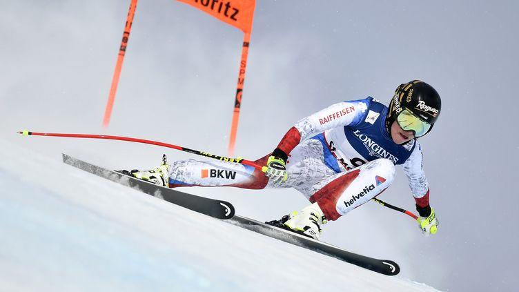 Lara Gut sera participera à la coupe du monde de ski alpin à solden (FABRICE COFFRINI / AFP)