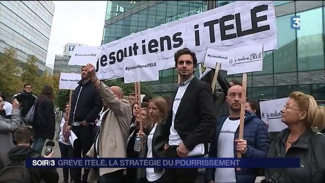 Quatrième semaine de grève à iTELE