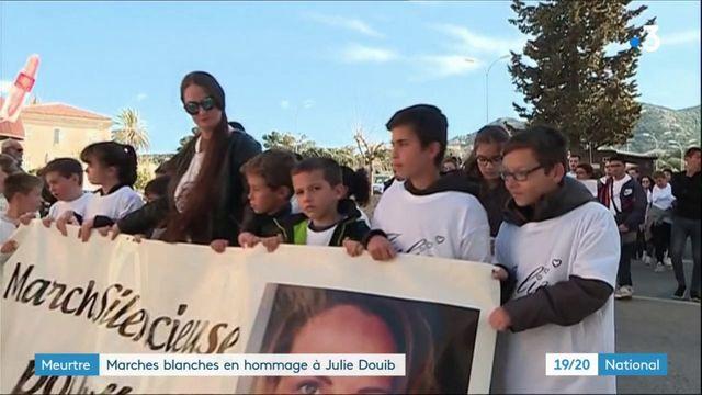 Féminicide: deux marches blanches organisées en hommage à Julie Douib