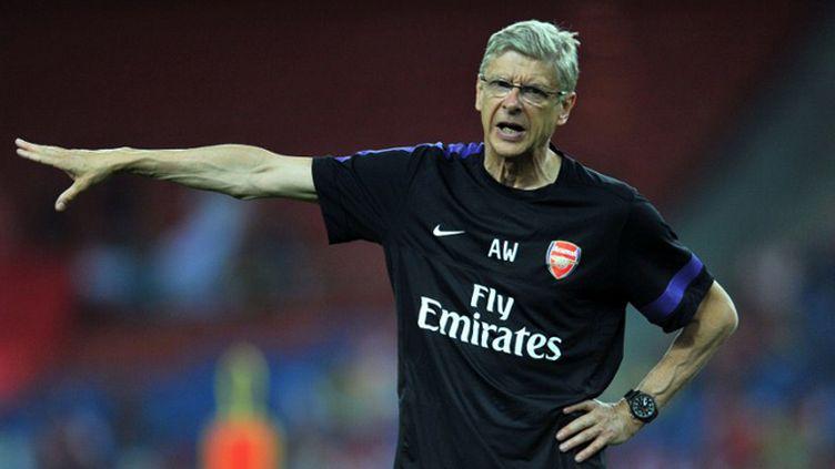 Le manageur d'Arsenal, Arsène Wenger