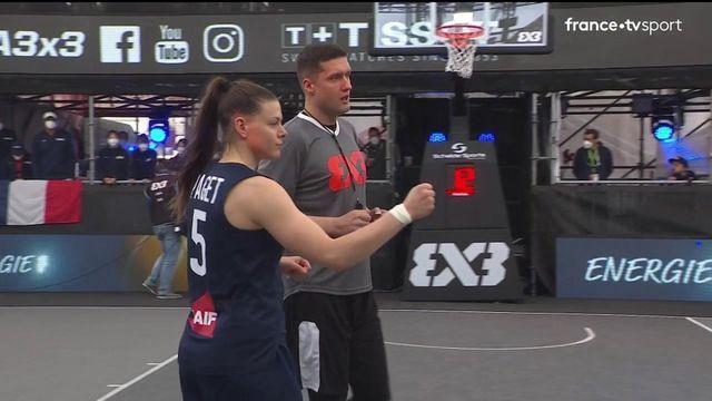 TQO Basket 3x3 (F) : les meilleurs moments de la demi-finale Japon vs France
