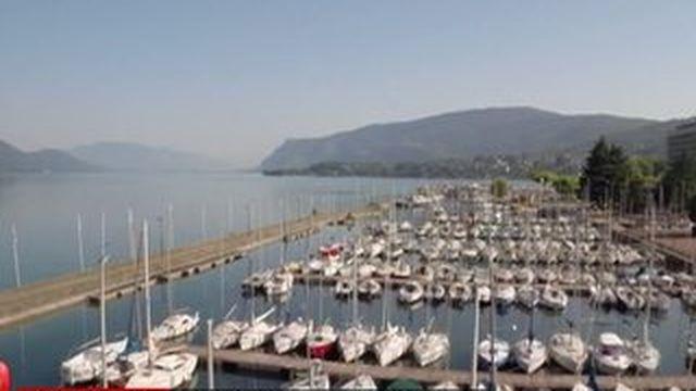 Le lac du Bourget, le plus grand lac naturel de France.