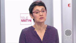 Nathalie Arthaud, leader de Lutte ouvrière (France 2)