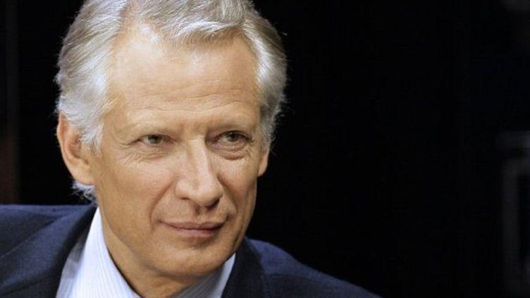 Dominique de Villepin, fondateur de République solidaire (ALEXANDER KLEIN / AFP)
