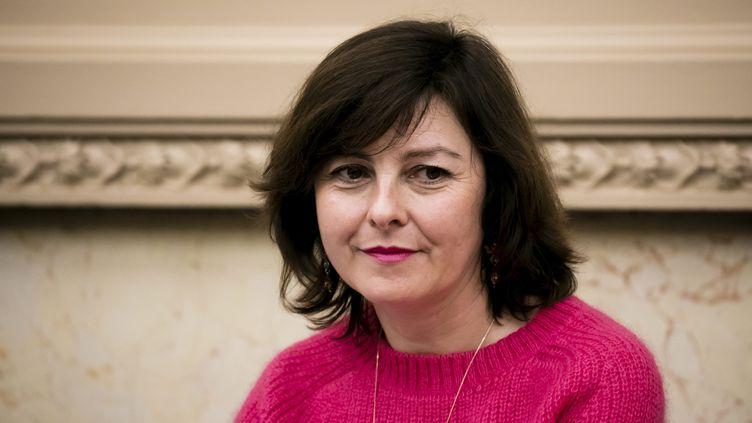Carole Delga, le 10 avril 2019 à Paris. (VINCENT ISORE / MAXPPP)
