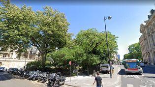 Le squarePaul-Painlevé devrait être renommé square Samuel-Paty et être inauguré le 16 octobre 2021, un an après l'assassinat de l'enseignant à Conflans-Sainte-Honorine (Yvelines). (GOOGLE STREET VIEW)