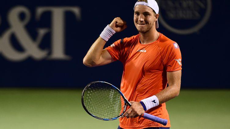 Le tennisman allemand Jan-Lennard Struff (JARED C. TILTON / GETTY IMAGES NORTH AMERICA)