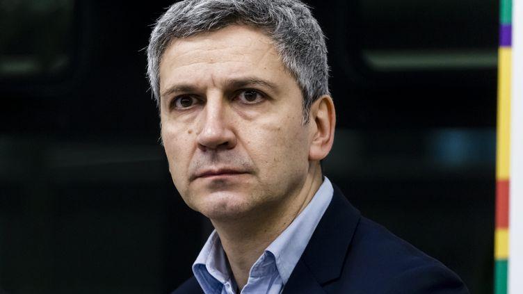 Christophe Najdovski,adjoint à la maire de Paris, chargé des transports, de la voirie, des déplacements et de l'espace public. (IP3 PRESS / MAXPPP)