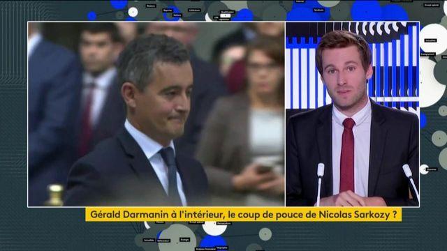 Remaniement : Gérald Darmanin promu grâce à Nicolas Sarkozy ?