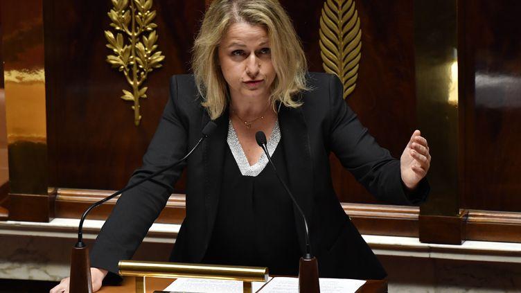 La députée de la Somme, Barbara Pompili. (GERARD JULIEN / AFP)