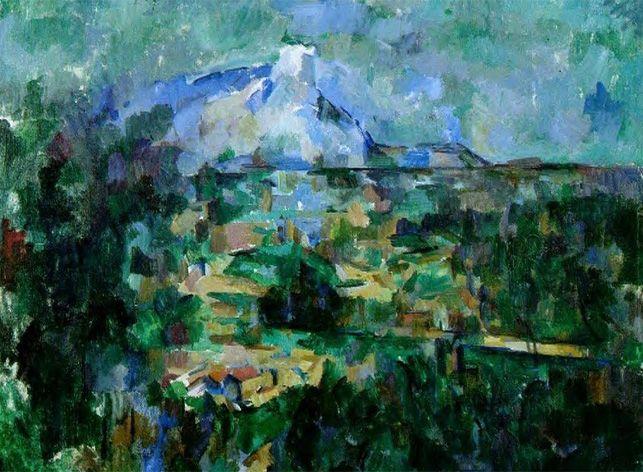 Montagne Sainte Victoire Sur Les Pas De Cezanne