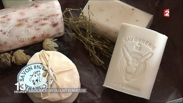 À la découverte de la fabrication du savon au lait d'ânesse