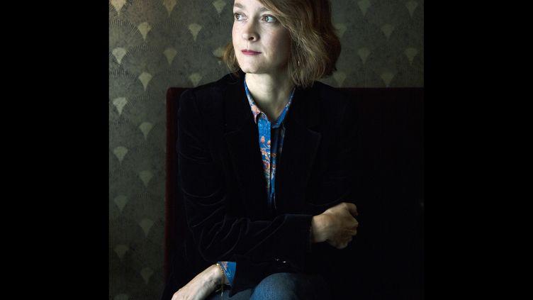 La romancière Marie Vingtras, 2021 (Patrice Normand)