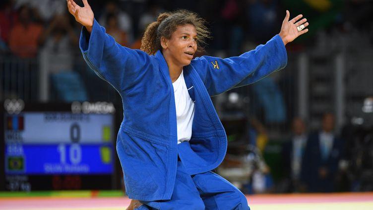 Rafaela Silva (TOSHIFUMI KITAMURA / AFP)