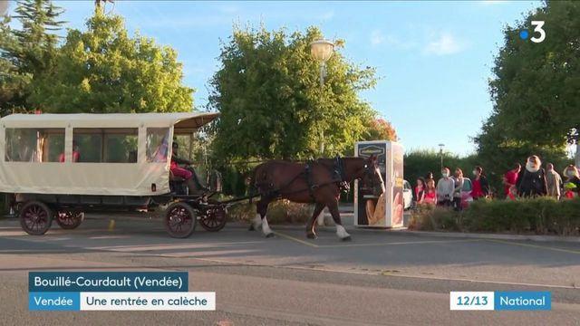 En Vendée, la rentrée en calèche !