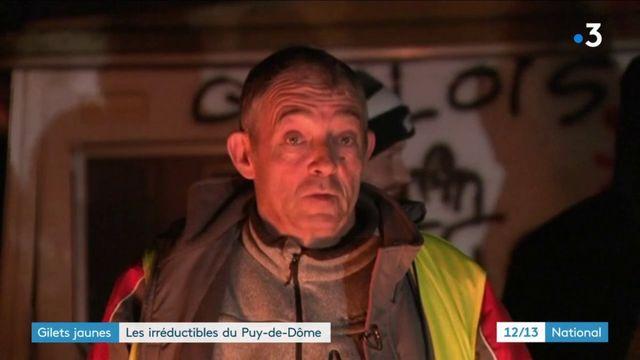 """""""Gilets jaunes"""" : les irréductibles du Puy-de-Dôme"""