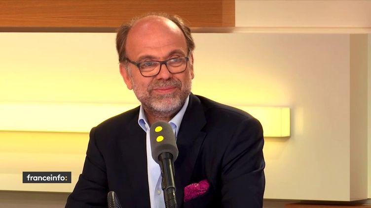 Emmanuel de Rohan Chabot, PDG du site de paris en ligne Zebet.fr, le 28 juin 2018. (RADIO FRANCE / FRANCEINFO)
