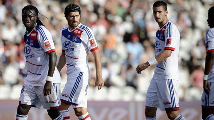 Les Lyonnais ont une occasion en or de reprendre la tête de la Ligue 1.  (JEFF PACHOUD / AFP)