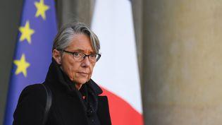 La ministre des Transports, Elisabeth Borne, le 21 novembre 2018 à Paris. (ALAIN JOCARD / AFP)