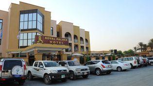 L'un des hôtels qui accueillait les négociateurs du processus de paix au Soudan du Sud. (Site Facebook du Royal hotel Juba)