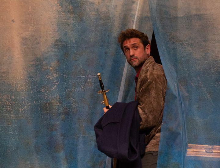 Mickaël Pinelli Ancelin, Sganarelle dans Dom Juan d'Olivier Maurin (@MICHEL CAVALCA)