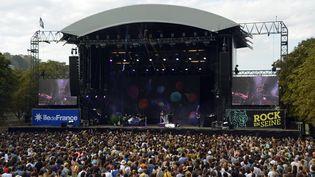 Le festival Rock en Seine, en 2015. (BERTRAND GUAY / AFP)