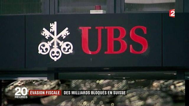 Évasion fiscale : des milliards d'euros bloqués en Suisse
