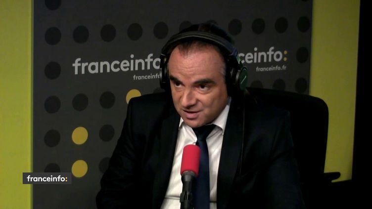 Pascal de Lima, chef économiste d'Harwell Management, invité de franceinfo dimanche 2 septembre. (RADIO FRANCE)