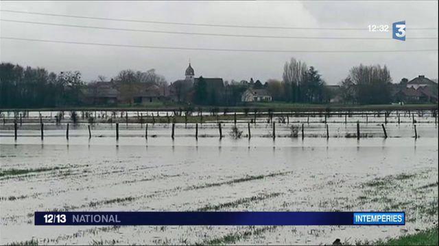 Bourgogne : des communes piégées par les crues