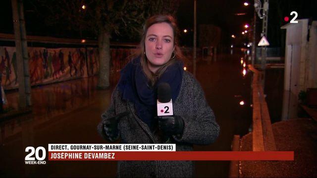 Inondations : à Gournay-sur-Marne, la décrue attendue pour lundi