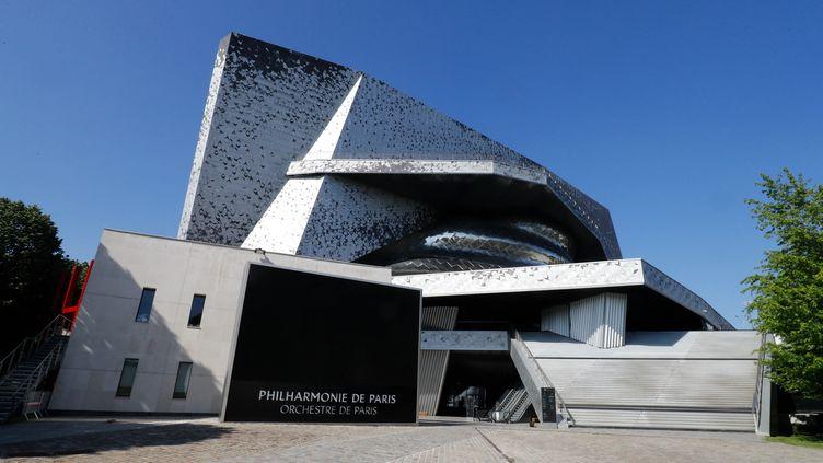 La Philharmonie de Paris, le 6 mai 2020 (FRANCOIS GUILLOT / AFP)
