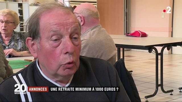 Retraites : le minimum de 1 000 euros ne convainc pas forcément