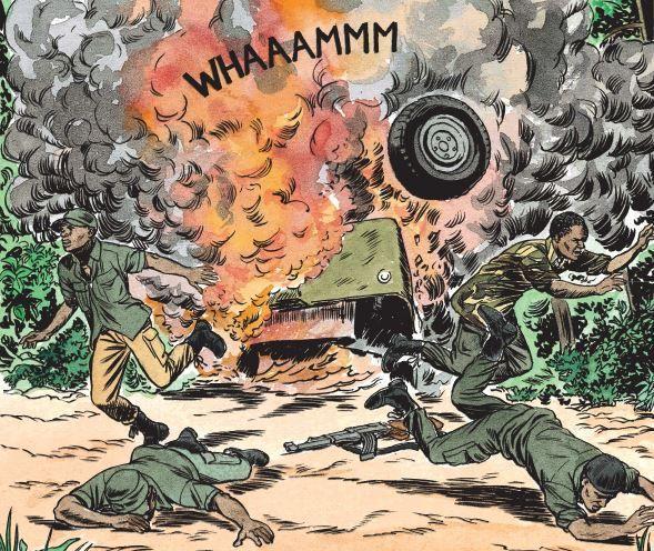 Extrait de la bande dessinée de Simon et Van Hamme (Le Lombard Editions) (Simon - Van Hamme / Le Lombard)