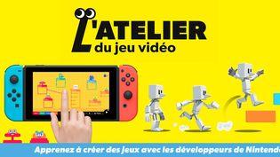 Vous avez des idées pour créer des jeux vidéo ? Un atelier vous attend chez Nintendo (2021 NINTENDO)