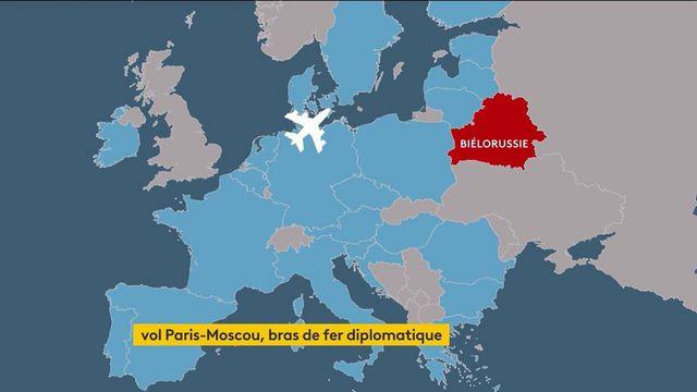 France/Russie : le bras de fer diplomatique continue après l'annulation d'un vol Paris-Moscou