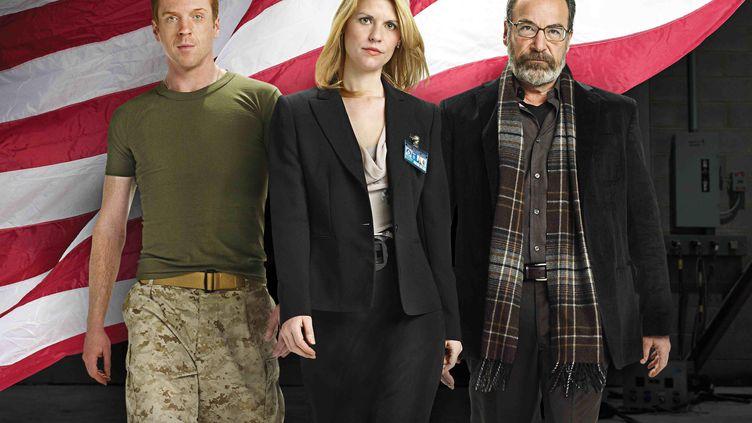 """Le premier épisode de la nouvelle saison de """"Homeland"""" a fuité sur le web, dimanche 1er septembre. Sa diffusion est prévue le 29 septembre sur Showtime. (KOBAL / AFP)"""