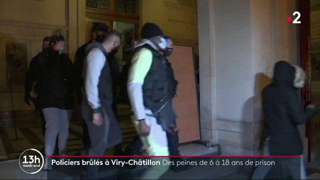 """Procès des policiers brûlés : des peines """"trop clémentes"""" pour certains"""