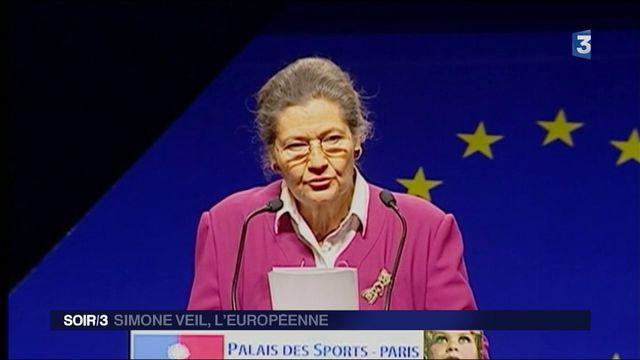 Simone Veil l'Européenne
