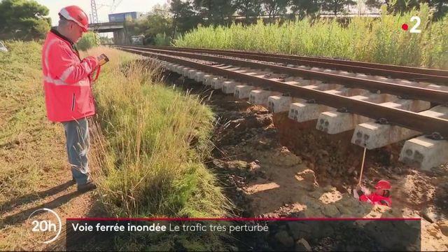 SNCF : les voies inondées perturbent le trafic