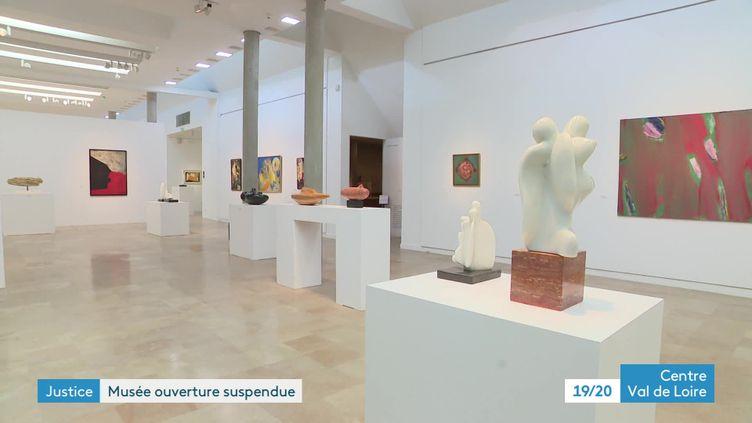 Le musée d'Issoudun (Indre) doit refermer ses portes après une décision de justice (France 3 Centre Val de Loire)