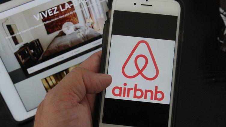 Airbnb (illustration). (JEAN-FRAN?OIS FREY / MAXPPP)