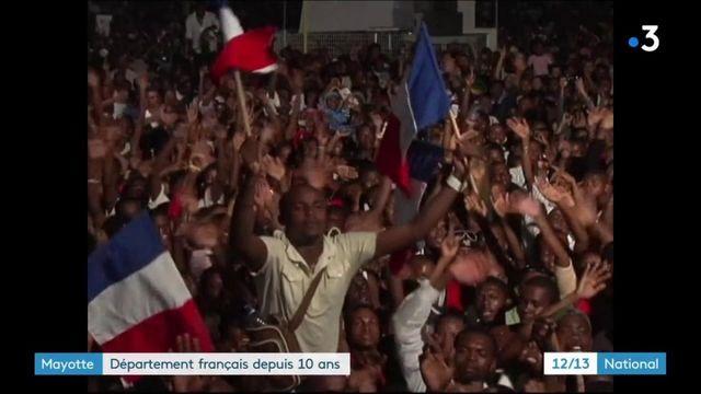 Mayotte : il y a dix ans, l'île devenait le 101e département français