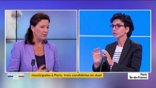 Municipales : débat houleux à Paris entre Buzyn, Hidalgo et Dati