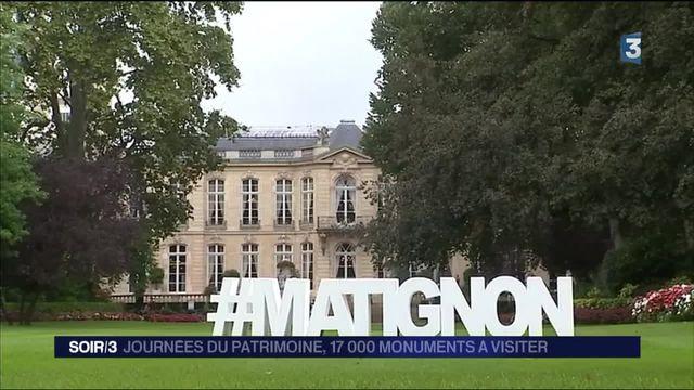 Journées du patrimoine : à la découverte de l'hôtel de Matignon