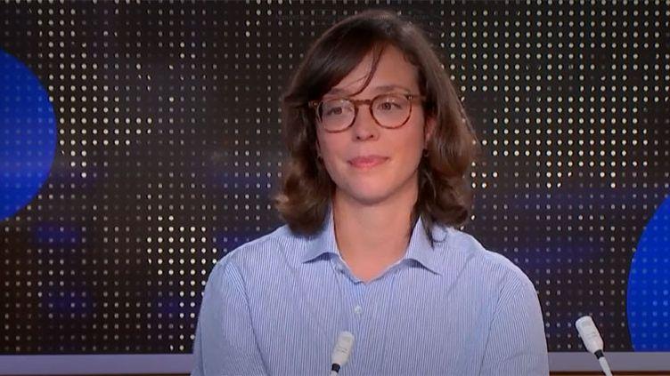 Sophie Reungeot, une rescapée des attentats du Bataclan. (FRANCEINFO)