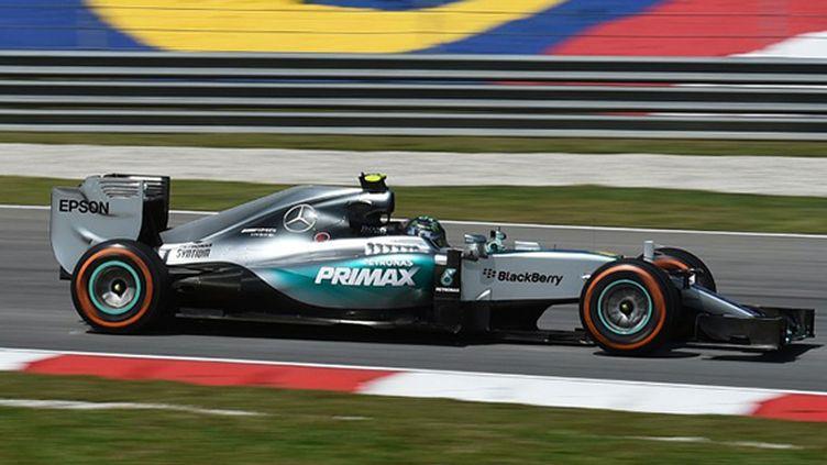 Le vice-champion du monde Nico Rosberg